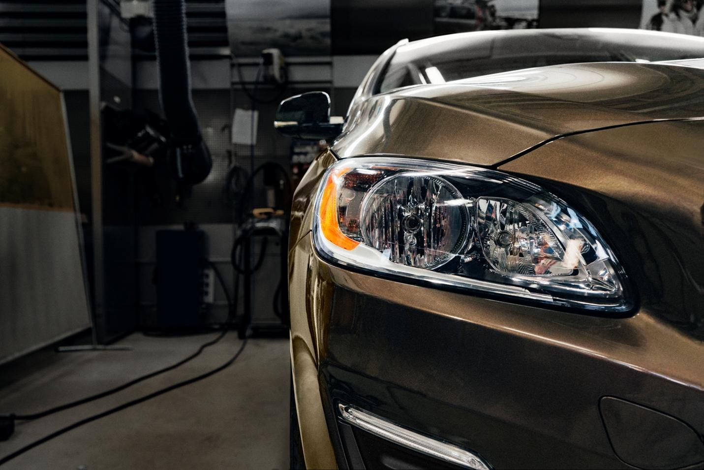 Volvo koplampen herstellen